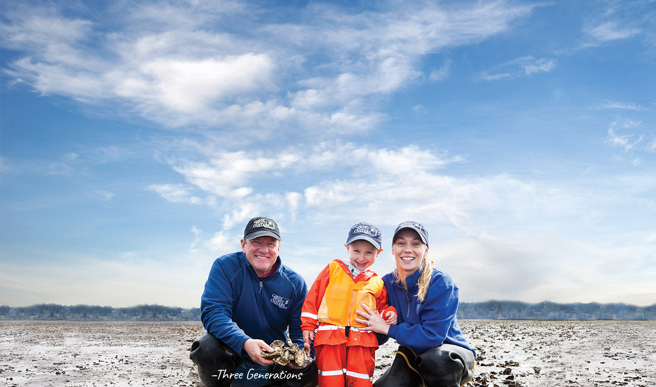 Goose Point Shellfish Farm & Oystery Three Generations