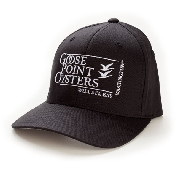 Goose Point Hat black-white