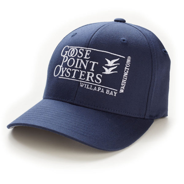 Goose Point Hat navy-white