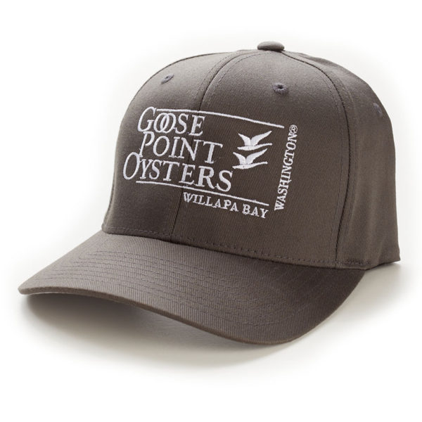 Goose Point Hat gray-white