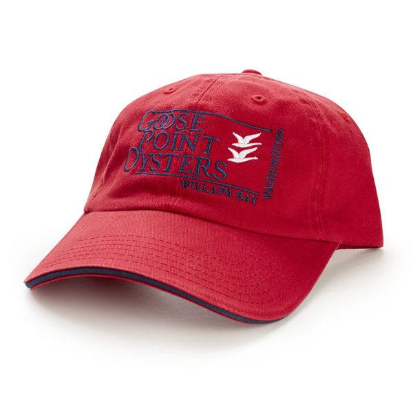 Goose Point Hat red-blue