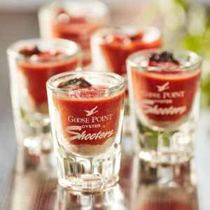 Goose Point Oyster Shooters, commercial prep