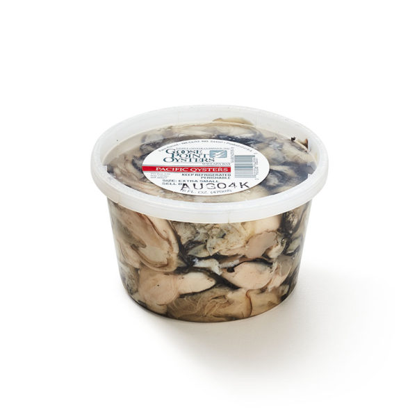 Goose Point Shucked Oysters 16oz Tub