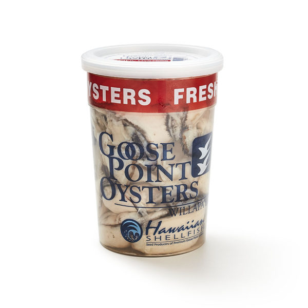 Goose Point Shucked Oysters 16oz Pull Tab
