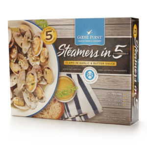 Goose Point Steamers in 5 box